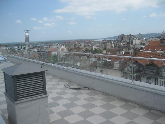 Inox ograde balkona